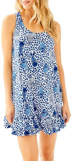 e67e585caf631a Lilly Pulitzer Evangelia Dress Print Tank, Tank Dress, Lilly Pulitzer,  Spring Summer Fashion