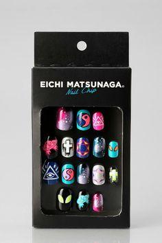 Eichi Matsunaga Painted Acrylic Nail Set #urbanoutfitters