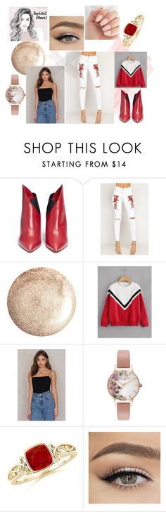 """flo"" by kara-lee-x on Polyvore featuring Valentino, WearAll and Olivia Burton"