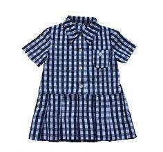 VINTAGE 60's / enfant / robe / coton / vichy par Prettytidyvintage