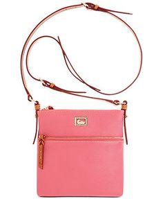 Dooney & Bourke Dillen II Letter Carrier - Bubblegum Pink