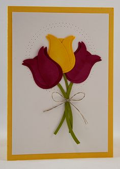 The Crafty Owls Blog | Spring Tulips