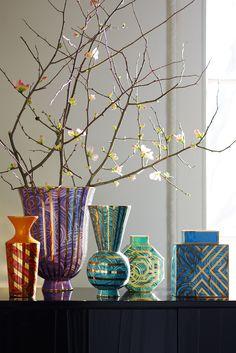 Jonathan Adler , Spring 2015. Malachite Collection.