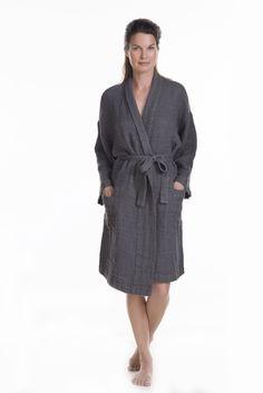 Balmuir 100% linen robe