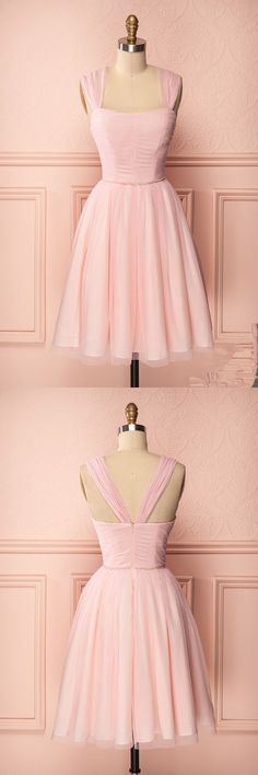 blush pink Homecoming dresses,short prom dresses,cheap homecoming dresses,sexy short prom dresses,tulle Homecoming Dress