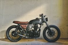 1975 Honda CB550 Cafe Racer (FADE TO BLACK)
