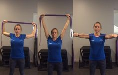 Goal Post Stretch http://www.prevention.com/fitness/7-exercises-that-instantly-un-hunch-your-shoulders/slide/1