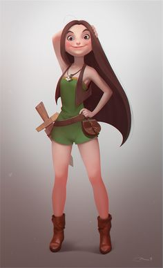 Vilda by Anna Tluczykont | Cartoon | 2D | CGSociety ★ Find more at http://www.pinterest.com/competing
