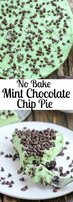 This No Bake Mint Ch