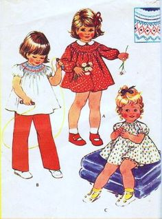 McCalls 3573 Vintage 1970's Toddlers' Dress and Bloomers of Top and Pants Sewing Pattern, Smocking Transfer Included,... Sewing Patterns Girls, Vintage Patterns, Princess Zelda, Disney Princess, Toddler Dress, Disney Characters, Crochet, Shopping, Dresses
