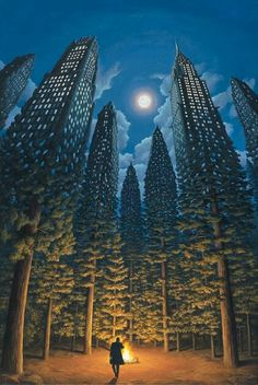 Rob Gonsalves: one of my personal favorite artists