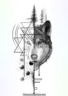 geometirc wolf tattoo design - geometirc wolf tattoo design You are in the right place about geometirc wolf tattoo design Tattoo D - Wolf Tattoo Design, Minimal Tattoo Design, Wolf Design, Design Design, Design Ideas, Custom Design, Compass Tattoo Design, Art Designs, Wolf Tattoos Men