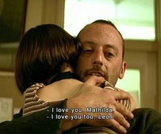 """Leon: The Professional"". directed by Luc Besson, Jean Reno, Natalie Portman, Series Movies, Movies And Tv Shows, Leon The Professional Quotes, Leon Matilda, L Love You, My Love, Mathilda Lando"