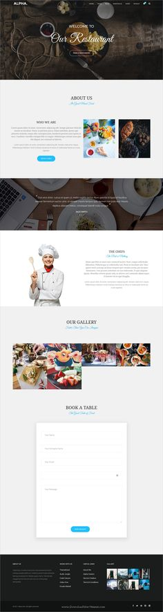 Alpha dot is awesome multipurpose responsive #WordPress theme for creative #restaurant and #cafe website with 18+ niche homepage layouts, 75+ pages & 20+ widgets download now..