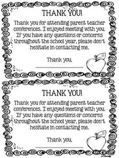 I would be the type of teacher to use these and send a goody home with the parents. It would make things positive in our relationship and encourage help from them throughout the school year if they know it will be recognized. Letter To Parents, Parents As Teachers, Parent Letters, Parents Meeting, Teacher Organization, Teacher Hacks, Parent Teacher Communication, Parent Teacher Conference Forms, Parent Involvement Ideas