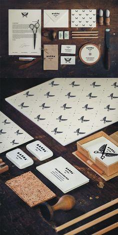 55 Dapper Branding Design Projects for Barber Shops