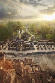 Baphuon Temple in Angkor, #Cambodia