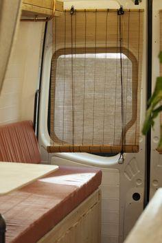 Conversions — Indigo & Olive Van Conversion Interior, Van Interior, Bus Conversion, Mercedes Sprinter Camper Van, Diy Van Conversions, Camper Van Life, Best Tiny House, Van Design, Van Living