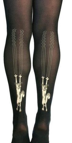 Your tights will run the first time you wear them. | 33 Absolutely Universal Truths AboutFashion