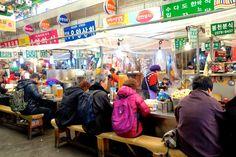 Apen matkat: Soul osa 13, Gwangjang market, paikallista tunnelmaa ja edullista ruokaa http://apenmatkat.blogspot.fi/