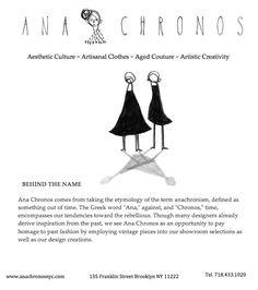 Ana Chronos: Behind the Name