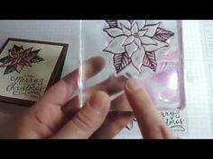 Stampin' Up! video tutorial using Stampin' Up!'s Reason for the Season Stamp set; Christine's Stamping Spot