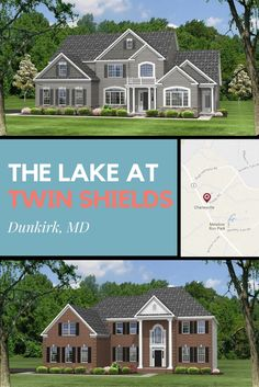 The Lakes At Twin Shields Is A Community Of New Homes In Dunkirk Md See These For From Quality Built