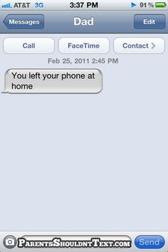I have done that b4 then i tired again and was like u got a txt and I kept doing it not even realizing I was the 1 making her get the txt I realized i was doing it when I said u now have 8 new messages come get ur phone!!!
