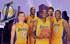 basketball lakers wallpaper hd