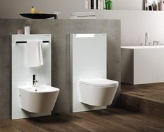 Sanitary module for bidet Monolith - Modulo sanitario per bidet Monolith Collection by Geberit Italia Bathroom Toilets, Bathroom Kids, Laundry In Bathroom, Modern Bathroom, Master Bathroom, Bathrooms, Bathroom Interior, Interior Design Living Room, Geberit Monolith