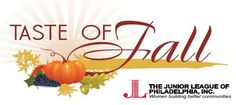 Come out and enjoy a Taste of Fall at the Junior League of Philadelphia's annual foodie affair! There will be a great selection of food, wine, beer, and other autumnal spirits to enjoy! October 14 at Smith Memorial Playground in Fairmount Park. Tickets are available at www.jlphiladelphia.org