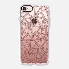 Abstract New Red and Grey Transparent -  #casetifyiphone7 #iphone7 #geometric #abstract #phonecase