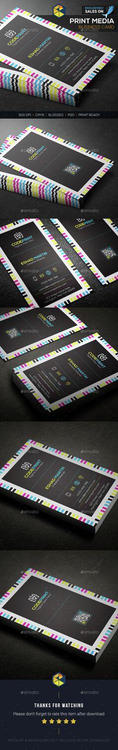Print Media Business Card