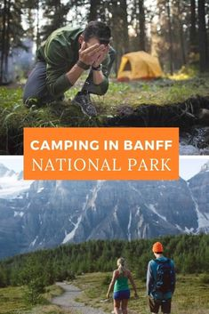 Camping in Canada's Banff National Park is something every outdoor adventurer should experience at least once in their lifetime. Best Places To Camp, Camping Places, Canada National Parks, Banff National Park, Alberta Canada, Travel Usa, Travel Tips, Beach Travel, Travel Advice