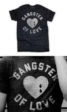 gangster of love tee