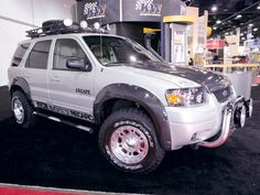 Ford Escape, just like this. You can pimp out anything. Ford Maverick, Ford Bronco, Lifted Ford Trucks, Jeep Truck, Jeep Wrangler, 2017 Ford Escape, Ford Explorer Xlt, Classic Car Insurance, Ford Parts