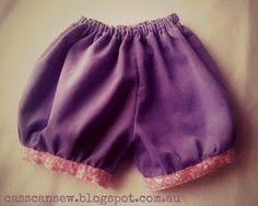 Tutorial: Puffed & Cuffed Shorts