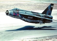 English Electric Lightning. Super fast, super low and probably one of the ugliest things ever to go supersonic.