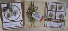 Perfectly Pine Christmas cards by Jeanette Grevett