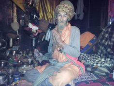 Shri Tripuri Giri, better known as Bamboo Baba, who was born in Thailand but has been residing in the village of Vashisht near Manali in the Himalayas for the past 30 years. He is a Siddha Yogi whose love for all beings knows no limits. His simple and pristine lifestyle is his message. Om Namah Shivaya.