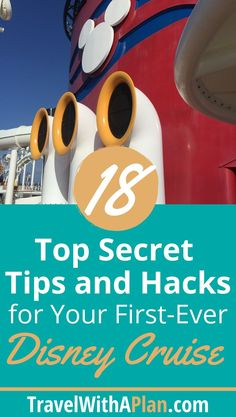 Get out 18 top secret tips and hacks for your first Disney cruise! Cruising the Disney Fantasy, Dream, Magic, or Wonder? This post will help prepare you for the best family vacation ever about DCL! This must-know tips are sure to be helpful! Best Cruise, Cruise Tips, Cruise Travel, Cruise Vacation, Disney Vacations, Disney Travel, Cruise Packing, Mexico Vacation, Travel