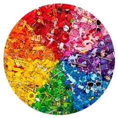 Toy color wheel