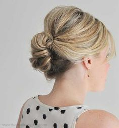 Updos for Bob Hairstyles | http://www.short-hairstyles.co/updos-for-bob-hairstyles.html