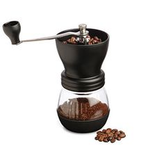 I love these old school coffee grinders -- I'm glad to see they still make them! (just more modern looking)