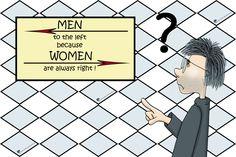 #Frauen und #Männer der ewige #Wettstreit