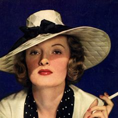 Detail Of Lucky Strike Cigarettes Lady 1935 - Out of 10.000 the www.MadMenArt.com Vintage Ad Art Collection features founder's absolute favorite designs. #Vintage #Ads #VintageAds #Design #Posters #MagazineCovers #Illustrations #Favorites #MyFavorites