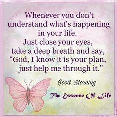 Just take a deep breath. Morning Inspirational Quotes, Uplifting Quotes, Inspirational Thoughts, Good Morning Quotes, Spiritual Encouragement, Words Of Encouragement, Spiritual Quotes, Positive Affirmations Quotes, Affirmation Quotes