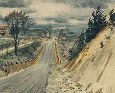 Charles Burchfield,  Road in Early Spring, 1938