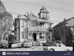 The Brousseau Mansion, Bunker Hill California History, California Ca, Los Angeles California, Southern California, Victorian Homes Exterior, Victorian House, Bunker Hill Los Angeles, Downtown Los Angeles, Illustrations