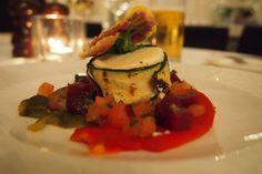 Goats cheese salad @ Homage at The Waldorf